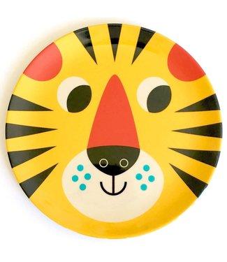 OMM Design OMM design Tiger Yellow Melamine Plate