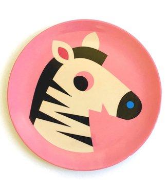 OMM Design OMM design Zebra Melamine Plate