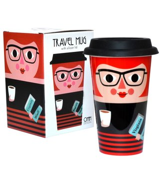 OMM Design OMM Design Travel Mug Lady