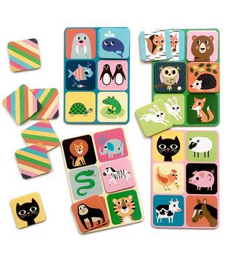 OMM Design OMM Design Animal Lotto Game