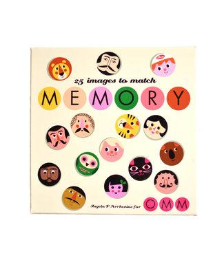OMM Design OMM Design Memory Spel Gezichten