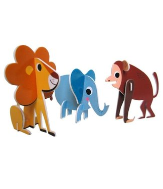 OMM Design OMM Design 3D Puzzle Animal Parade