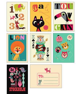 OMM Design OMM Design Card Set Hallå från OMM