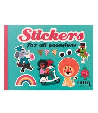 OMM Design OMM design Stickerboek
