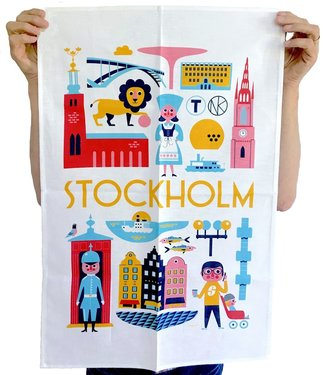 OMM Design OMM Design  Stockholm Tea Towel