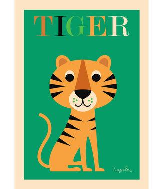 OMM Design OMM Design Poster Tijger 50x70cm