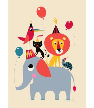 OMM Design OMM Design Poster Animal Party 50x70cm