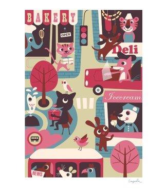 OMM Design OMM Design Poster Town 50x70cm