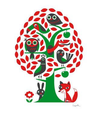 OMM Design OMM Design Poster Tree 50x70cm