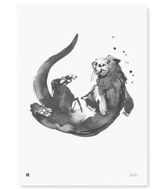 Teemu Järvi  Teemu Järvi Poster Otter 50 x 70 cm