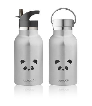 Liewood Liewood Anker RVS Waterfles Drinkfles Panda