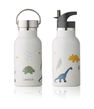 Liewood Liewood Anker RVS Waterfles Drinkfles Dino