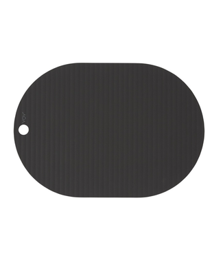 OYOY OYOY Ribbo Placemats Black Oval