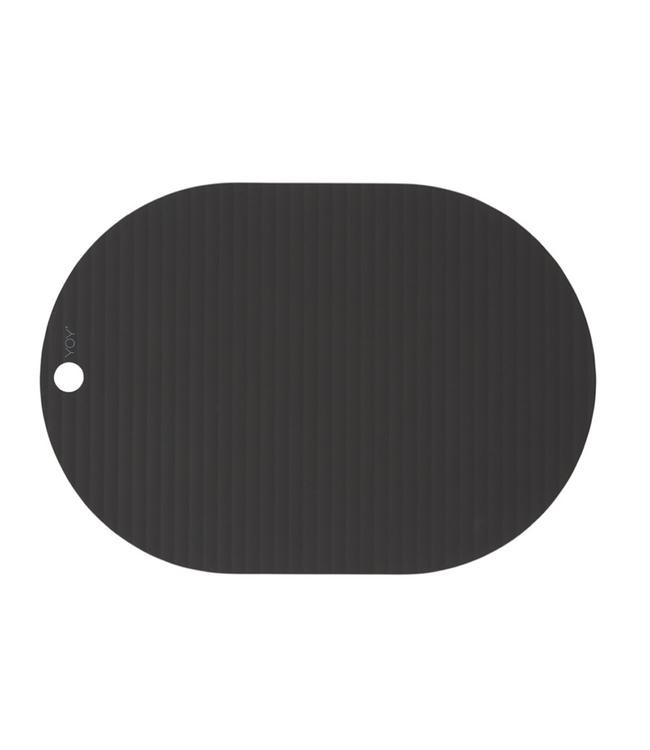 OYOY OYOY Ribbo Placemats Black Oval