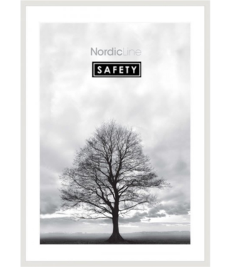 Incado Incado Nordic Line Safety Lijst Wit 50 x 70cm