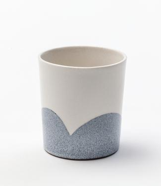 Lars Rank Keramik Lars Rank Keramik Blue Hills Handgemaakte Beker 1,5dl