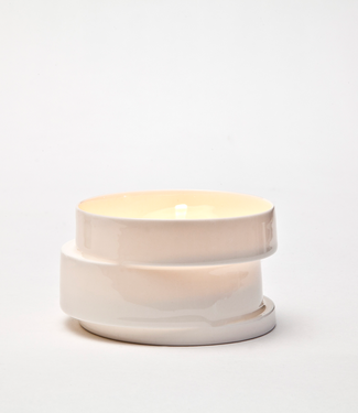 Lars Rank Keramik Lars Rank Keramik Tea light Stacked White