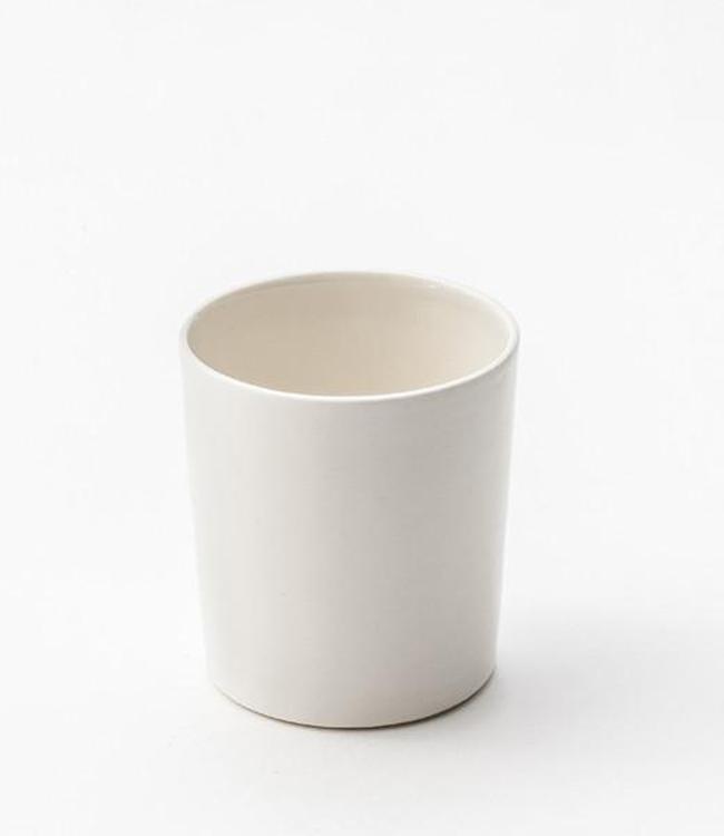 Lars Rank Keramik Lars Rank Keramik Handmade Dots Cup White 1,5 dl