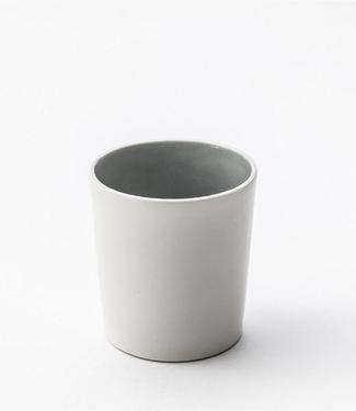 Lars Rank Keramik Lars Rank Keramik Handgemaakt Dots Beker Grijs 1,5dl