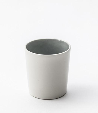 Lars Rank Keramik Lars Rank Keramik Handmade Dots Cup Grey 1,5 dl