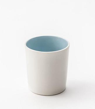 Lars Rank Keramik Lars Rank Keramik Dots Beker Blauw 1,5dl