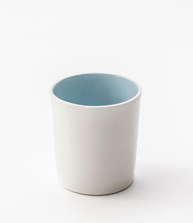 Lars Rank Keramik Lars Rank Keramik Handgemaakt Dots Beker Blauw 1,5dl