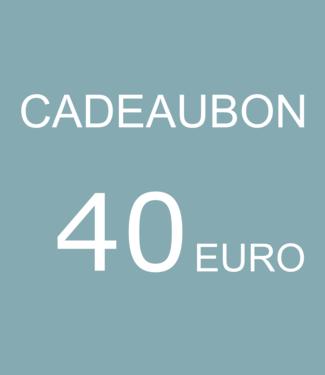 Blikfang Digitale CADEAUBON - 40 EURO