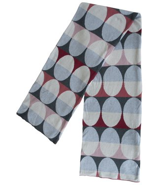 Funky Doris Funky Doris Plaid Olivia Red 130 x170 made of 100% cotton