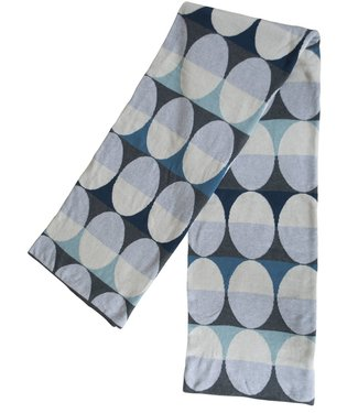 Funky Doris Funky Doris Plaid Olivia Blue 130 x170 made of 100% cotton