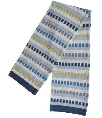Funky Doris Funky Doris Plaid Birk Blauw 130 x170 van 100% katoen