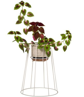 OK Design OK Design Cibele Plant Stand Medium White