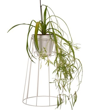 OK Design OK Design Cibele Plant Stand Large White