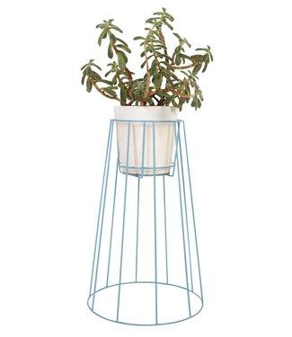 OK Design OK Design Cibele Plant Stand Large Blue
