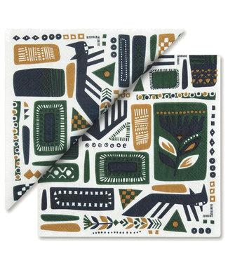 Marimekko Marimekko Svaale Paper Napkin 33x33cm