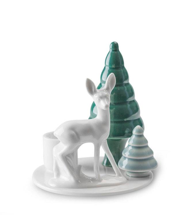 Dottir Dottir Winter Stories Bambi Candlestick