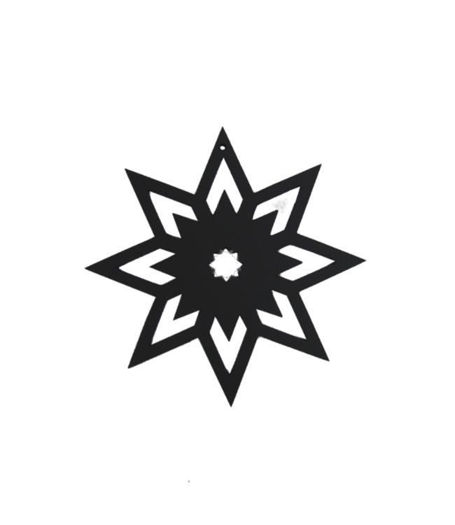 SEJ Design SEJ Design Zwarte Kersthanger Verschillende Soorten
