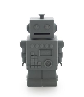 KG Design KG Design Spaarpot Mr Robot Grijs