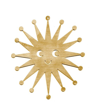 Studio Arhoj Studio Arhoj Blink Ornament Star Brass