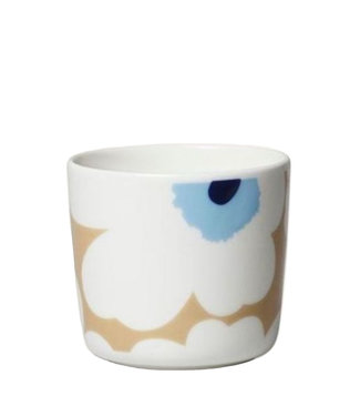 Marimekko Marimekko Unikko Cup 2dl without handle Beige Lightblue