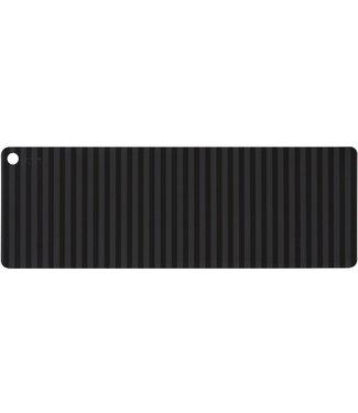 OYOY OYOY Silicone Table Black Stripe