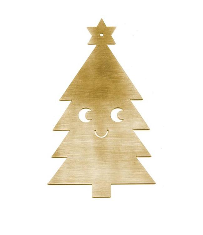 Studio Arhoj Studio Arhoj Blink Ornament Kerstboom Messing