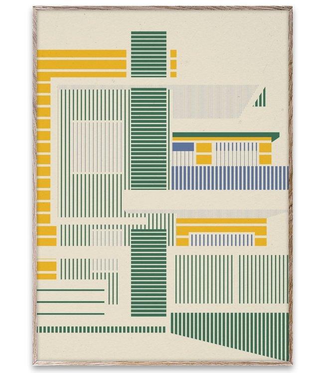 Paper Collective Art Print 50x70cm Empty Spaces 02