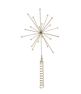 OYOY OYOY Kerstboom piek - Ornament Messing