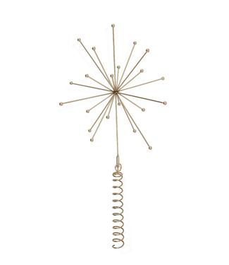 OYOY OYOY Kerstpiek-Ornament Messing