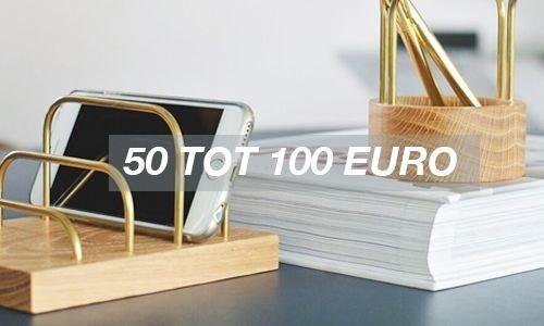50 tot 100 euro