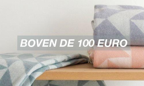 boven de 100 euro