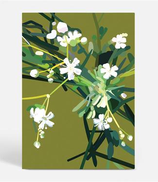 Kortkartellet Botanica Poster A3 Flower 'Weed' Karry