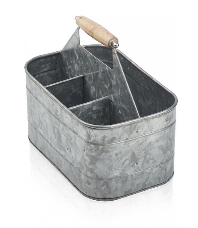 Humdakin Humdakin Zinc Bucket with Compartments