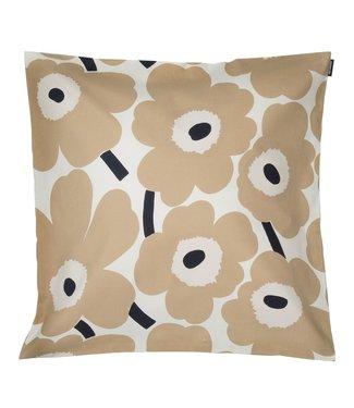 Marimekko Marimekko Pieni Unikko cushion cover beige 50x50cm