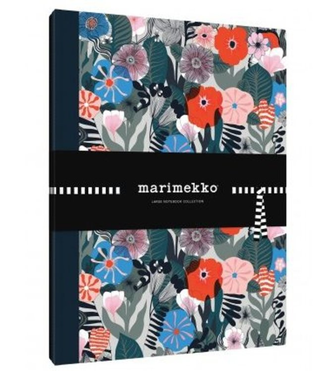Marimekko Marimekko Set of 2 large notebooks with 2 different covers